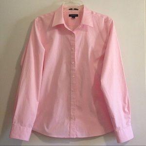 Lands End 100% cotton pinpoint Oxford shirt